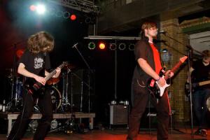 R15 auf der Bühne (c) Leipziger-Bildungsfest.de