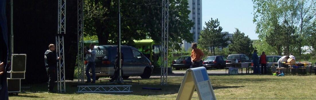 Bühne im Schönauer Park (c) Leipziger-Bildungsfest.de