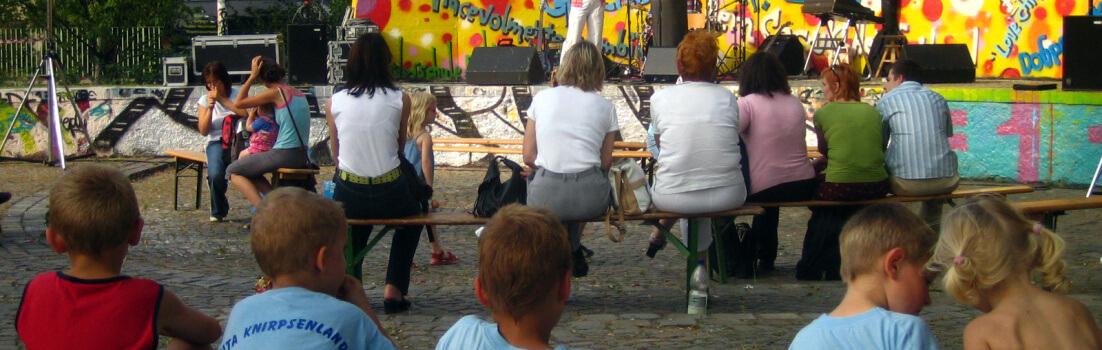 GERne Bildung! GERne Kinder! 2005 (c) leipziger-bildungsfest.de
